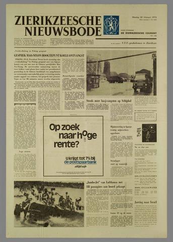 Zierikzeesche Nieuwsbode 1972-02-22