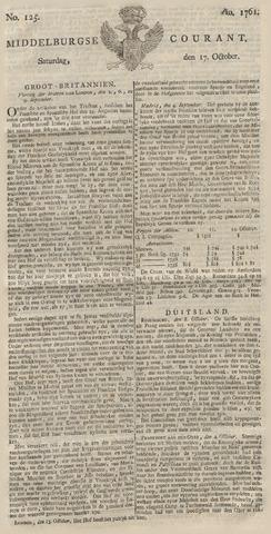 Middelburgsche Courant 1761-10-17