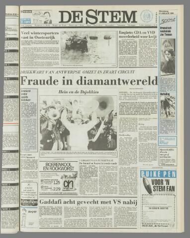 de Stem 1986-01-27