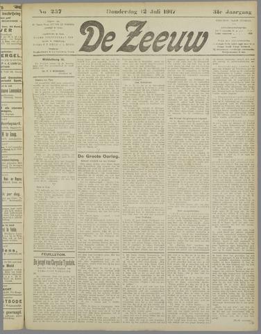 De Zeeuw. Christelijk-historisch nieuwsblad voor Zeeland 1917-07-12