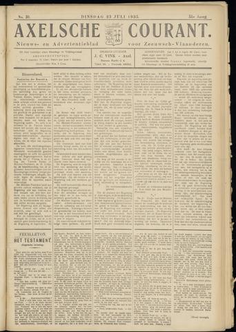 Axelsche Courant 1935-07-23
