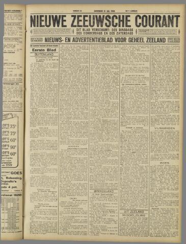 Nieuwe Zeeuwsche Courant 1926-07-31