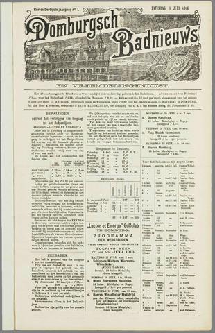 Domburgsch Badnieuws 1916