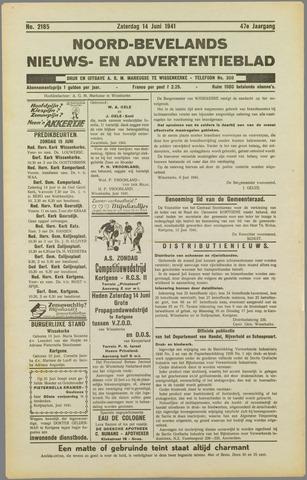 Noord-Bevelands Nieuws- en advertentieblad 1941-06-14