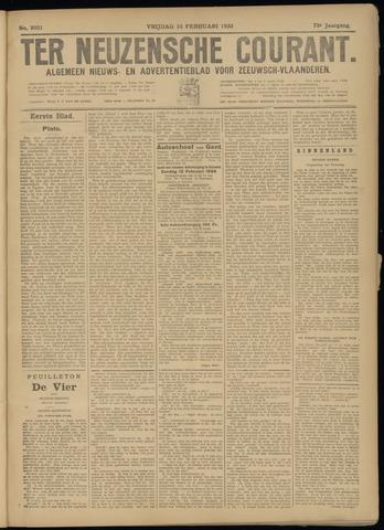 Ter Neuzensche Courant. Algemeen Nieuws- en Advertentieblad voor Zeeuwsch-Vlaanderen / Neuzensche Courant ... (idem) / (Algemeen) nieuws en advertentieblad voor Zeeuwsch-Vlaanderen 1933-02-10