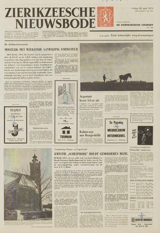 Zierikzeesche Nieuwsbode 1973-04-20