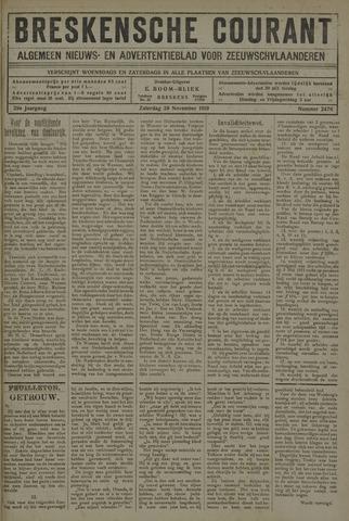 Breskensche Courant 1919-11-29
