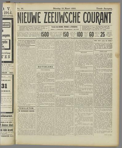 Nieuwe Zeeuwsche Courant 1914-03-24
