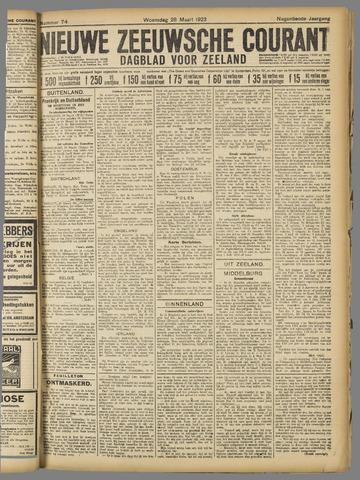 Nieuwe Zeeuwsche Courant 1923-03-28
