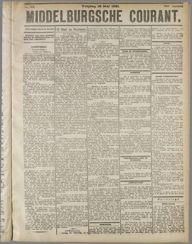 Middelburgsche Courant 1921-05-13