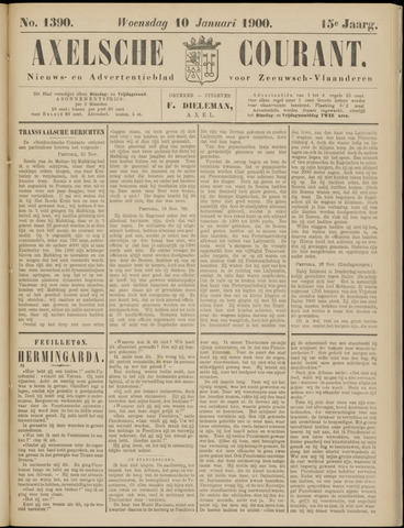 Axelsche Courant 1900-01-10