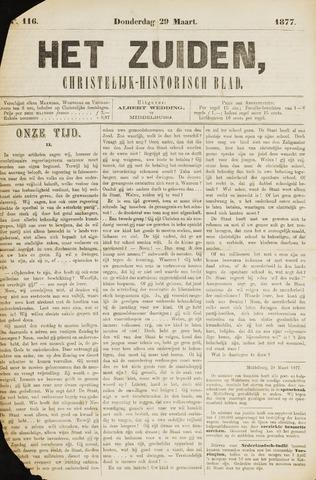 Het Zuiden, Christelijk-historisch blad 1877-03-29