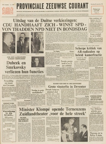 Provinciale Zeeuwse Courant 1969-09-29