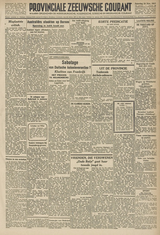 Provinciale Zeeuwse Courant 1945-11-24