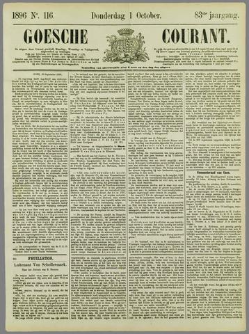 Goessche Courant 1896-10-01