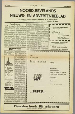 Noord-Bevelands Nieuws- en advertentieblad 1960-03-12