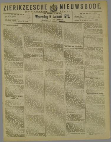 Zierikzeesche Nieuwsbode 1915-01-06