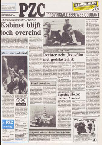 Provinciale Zeeuwse Courant 1988-09-23