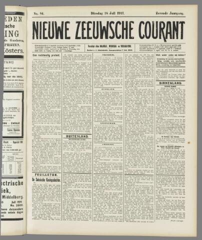 Nieuwe Zeeuwsche Courant 1911-07-18