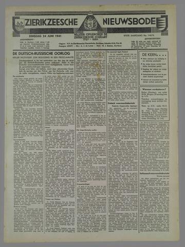 Zierikzeesche Nieuwsbode 1941-06-20