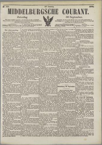 Middelburgsche Courant 1899-09-30