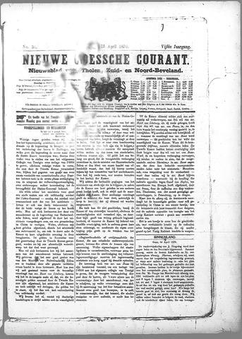Nieuwe Goessche Courant 1870-04-15