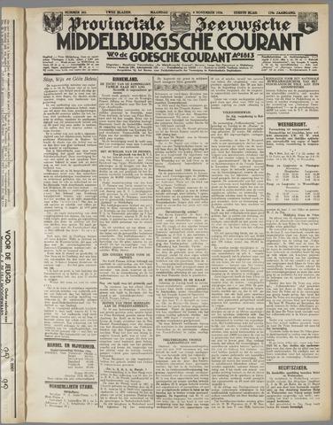 Middelburgsche Courant 1936-11-09