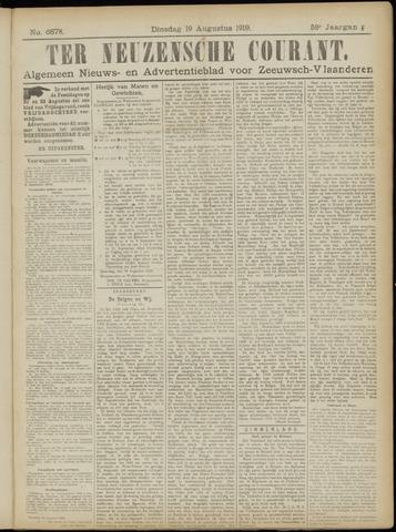 Ter Neuzensche Courant. Algemeen Nieuws- en Advertentieblad voor Zeeuwsch-Vlaanderen / Neuzensche Courant ... (idem) / (Algemeen) nieuws en advertentieblad voor Zeeuwsch-Vlaanderen 1919-08-19