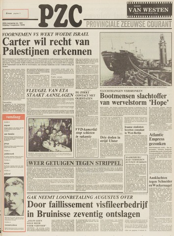 Provinciale Zeeuwse Courant 1979-08-03