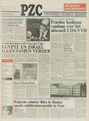 Provinciale Zeeuwse Courant 1977-11-28