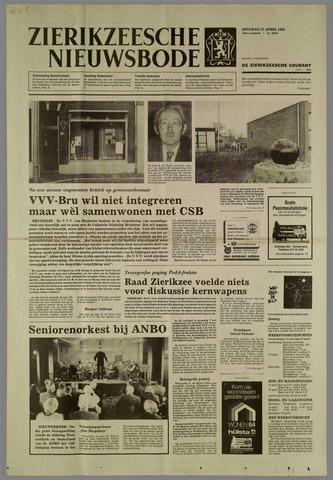Zierikzeesche Nieuwsbode 1984-04-17