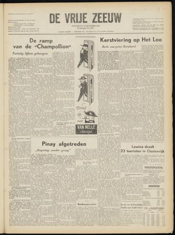 de Vrije Zeeuw 1952-12-24