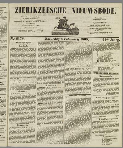 Zierikzeesche Nieuwsbode 1865-02-04