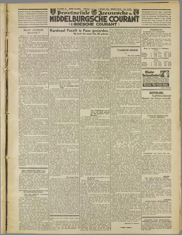 Middelburgsche Courant 1939-03-03