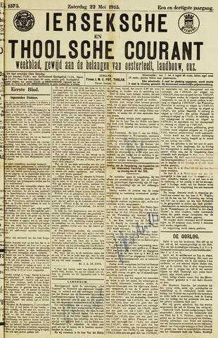 Ierseksche en Thoolsche Courant 1915-05-22