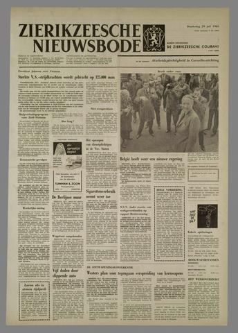 Zierikzeesche Nieuwsbode 1965-07-29