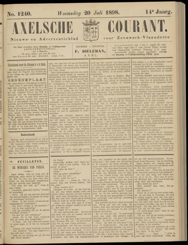 Axelsche Courant 1898-07-20