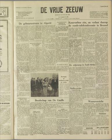de Vrije Zeeuw 1960-01-26