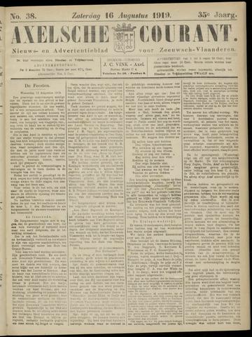 Axelsche Courant 1919-08-16
