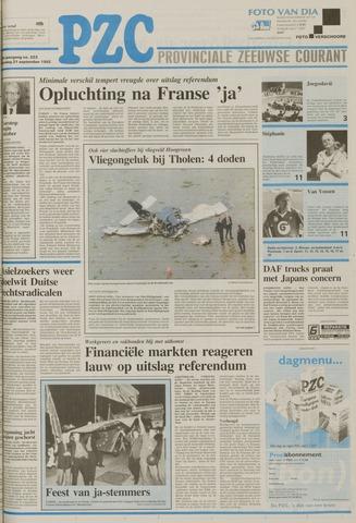 Provinciale Zeeuwse Courant 1992-09-21