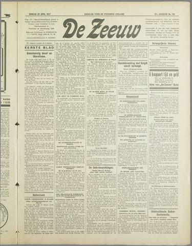 De Zeeuw. Christelijk-historisch nieuwsblad voor Zeeland 1937-04-20