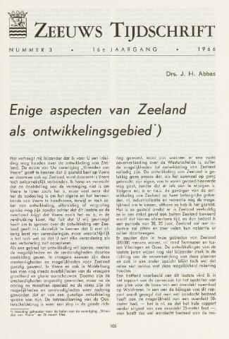 Zeeuws Tijdschrift 1966-05-01