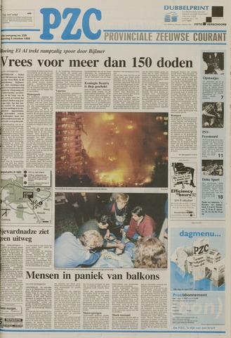 Provinciale Zeeuwse Courant 1992-10-05