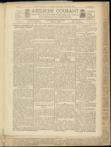 Axelsche Courant 1945-11-07
