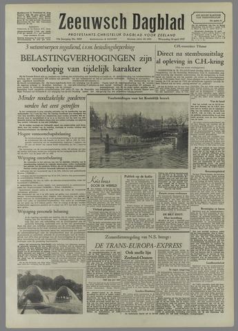 Zeeuwsch Dagblad 1957-04-24