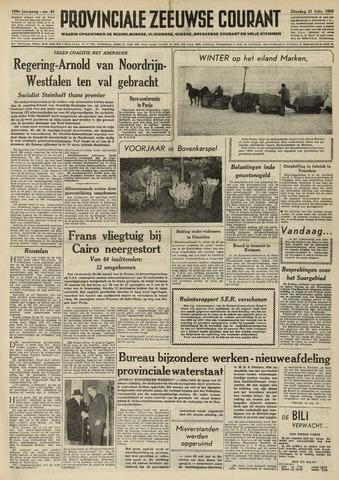 Provinciale Zeeuwse Courant 1956-02-21