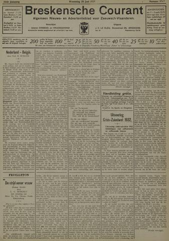 Breskensche Courant 1932-06-29