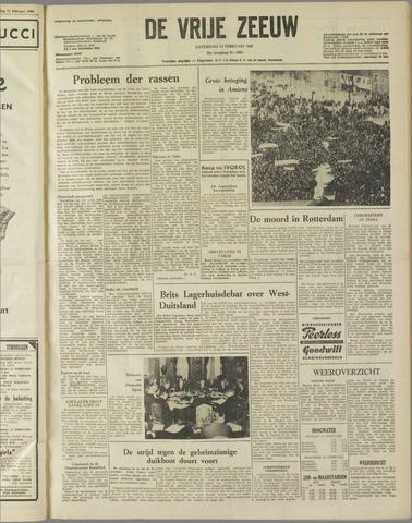 de Vrije Zeeuw 1960-02-13