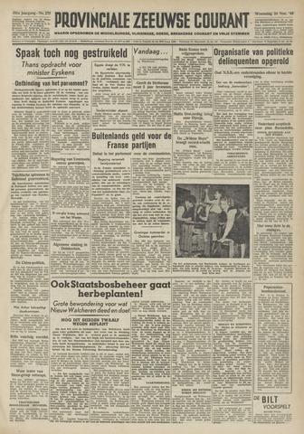 Provinciale Zeeuwse Courant 1948-11-24