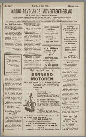 Noord-Bevelands Nieuws- en advertentieblad 1926-06-05